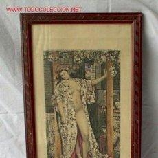 Arte: GRABADO EROTICO AÑO 1933 - SOBRE EL CUADRO DE JAMES TISSOT. Lote 26574271