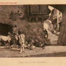 Arte: AGUAFUERTE DE M. FORTUNY SEGÚN M. SEGUÍ - S. XIX . Lote 26286653