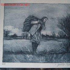 Arte: GUNTER AGUAFUERTE ORIGINAL. Lote 16581174