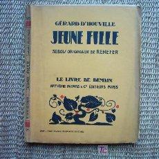 Arte: 36 GRABADOS EN MADERA DE RENEFER (1879-1957) ILUSTRANDO JEUNE FILLE. 1929.. Lote 5430245