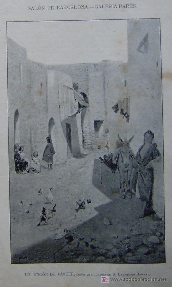 copia de tres cuadros de d. laureano barrau - s - Comprar Grabados ...