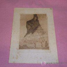 Arte: LUIS GARCIA FALGAS GRABADO 1916. Lote 27227908