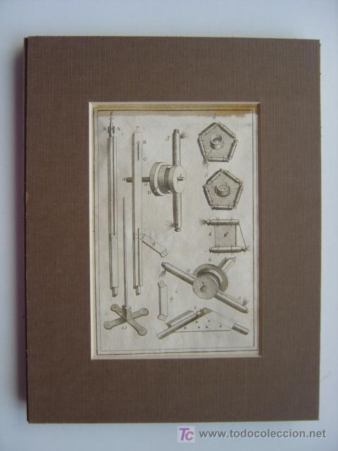 Arte: 7 PRECIOSOS GRABADOS DE PIROTECNIA - AÑOS 1780 - Foto 3 - 133089258