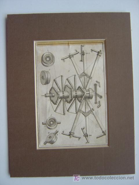 Arte: 7 PRECIOSOS GRABADOS DE PIROTECNIA - AÑOS 1780 - Foto 13 - 133089258