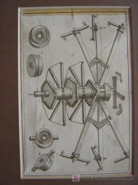 Arte: 7 PRECIOSOS GRABADOS DE PIROTECNIA - AÑOS 1780 - Foto 14 - 133089258