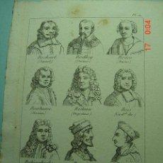 Arte: 1239 GRABADO SIGLO XVIII - CESAR BORGIA - BOECIO ETC ETC - OCASION - COSAS&CURIOSAS. Lote 6485103