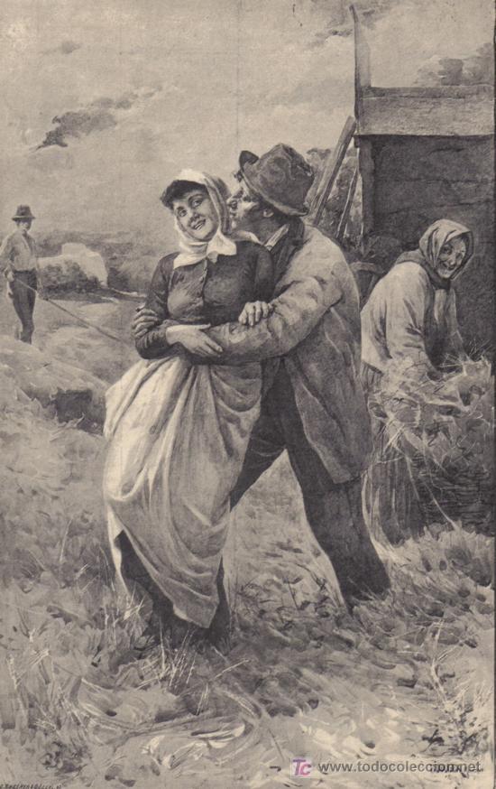 enamorados - grab.antig.1884 - ideal para enmar - Comprar Grabados ...