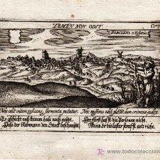Arte: GRABADO DE MARCHENA ( SEVILLA ) MEISNER 1638, ( ORIGINAL, NO COPIA ). Lote 26281398