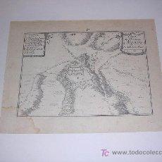 Arte: GRABADO ORIGINAL DE EL PLAN DU CHASTEAU D'ALGOIRE ( LLEIDA - LERIDA ), BEAULIO , PARIS 1680. Lote 8444285