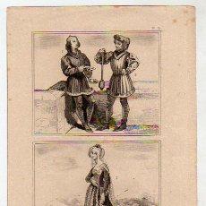 Arte: GRABADO. S. XIX. PEDRO CARDINAL., POETA TROBADOR. MACERO. YNES DE LOISY. 17 X 23 CM. . Lote 6054003