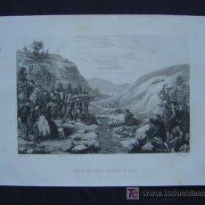 Arte: ACCION DE RIBAS - 21 DE MARZO DE 1835. Lote 11303735