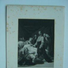 Arte: RESURRECCION DE LA HIJA DE JAIRO. Lote 11303724