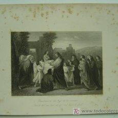 Arte: RESURRECCION DEL HIJO DE LA VIUDA. Lote 11303727