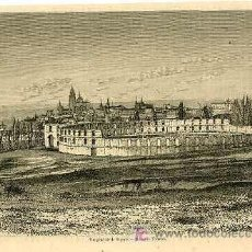 Arte: SEGOVIA.- VISTA GENERAL.- AÑO 1859. Lote 10040679