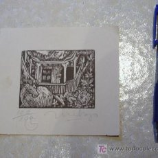 Arte: GRABADO ORIGINAL CUBANO (100/100). CUBA. Lote 7586467