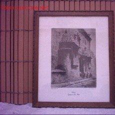 Arte: GRABADO IGLESIA DE SAN MARTI (VALENCIA). Lote 26211621