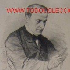 Arte: DOCTOR DON VICENTE ASUERO Y CORTAZAR.-. Lote 14724466