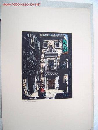EXTREMADURA - DE CASTELLS MARTI (Arte - Grabados - Contemporáneos siglo XX)