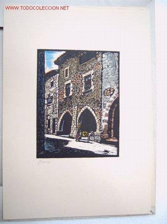 GERONA - DE CASTELLS MARTI (Arte - Grabados - Contemporáneos siglo XX)