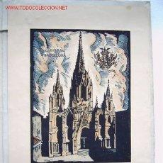 Arte: CATEDRAL DE BARCELONA - DE CASTELLS MARTI. Lote 22000200