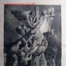 Arte: EL DRAMA DEL CALVARIO - EL DESCENDIMIENTO DE LA CRUZ.-. Lote 10812264
