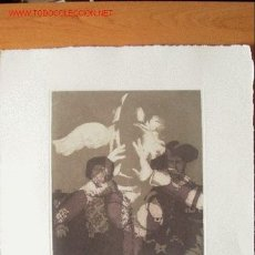 Arte: EXCEPCIONAL GRABADO DE EBERHARD SCHLOTTER PARA LA EDICIÓN DEL QUIJOTE DE 1982 DE EDICIONES REMBRANDT. Lote 27001129