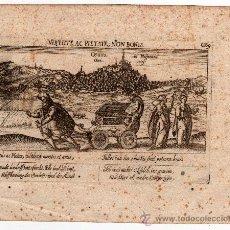 Arte: GRABADO DE OSUNA ( SEVILLA ) MEISNER 1638, ( ORIGINAL, NO COPIA ). Lote 15533186
