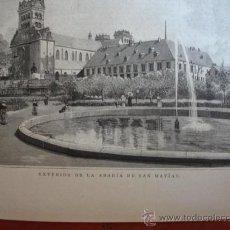 Arte: ABADIA DE SAN MATIAS. Lote 10482238