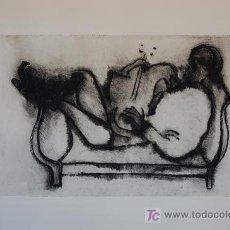 Arte: BERNARD STERN AGUAFUERTE ORIGINAL FIRMADO , TITULADO Y CON JUSTIFICACION DE TIRADA. Lote 16812235