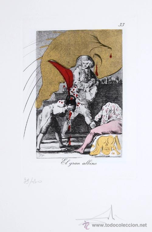 LOS CAPRICHOS DE GOYA DE DALI, 1977 (Arte - Grabados - Contemporáneos siglo XX)