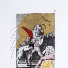 Arte: LOS CAPRICHOS DE GOYA DE DALI, 1977. Lote 26565587