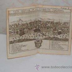 Arte: TARAZONA, ZARAGOZA, ANTIGUO GRABADO, AÑO 1772,GARANTIZO FECHA Y AUTENTICIDAD. 15 X 18 CM. Lote 27289542