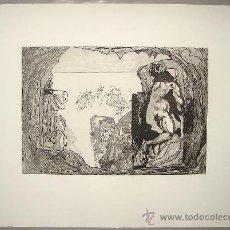 Arte: JORGE CASTILLO - PONTEVEDRA - HOMAGE A MIGUELANGELO - 1975. Lote 27128617