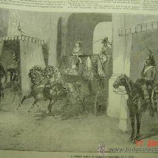 Arte: 6184 MADRID ESCENA PRECIOSO GRABADO INGLES 1856 MAS EN MI TIENDA COSAS&CURIOSAS. Lote 13927072