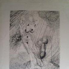 Arte: SALVADOR DALI. GRABADO. VENUS - MYTHOLOGIE 1963. Lote 133729295
