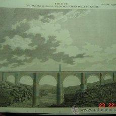 Arte: 8256 TOLEDO GRABADO PUENTE DE ALCANTARA DAVID BREWSTER CIRCA AÑO 1832 COSAS&CURIOSAS. Lote 26777379