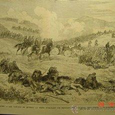 Arte: 8391 IRUN GUERRA CARLISTA PRECIOSO GRABADO - AÑO 1875 - MILITARIA - MAS EN MI TIENDA. Lote 26967277