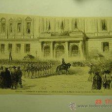 Arte: 9086 MADRID CREACION GUARDIA RURAL 1ª REPUBLICA GRABADO AÑOS 1869 MAS EN MI TIENDA C&C. Lote 13457260