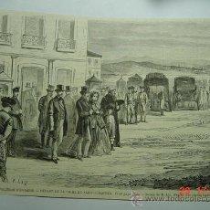 Arte: 9092 SAN SEBASTIAN ISABEL II 1ª REPUBLICA GRABADO AÑOS 1868 MAS EN MI TIENDA C&C. Lote 13457365
