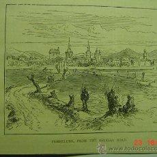Arte: 9118 PAMPLONA ESTELLA GUERRA CARLISTA GRABADO AÑOS 1875 MAS EN MI TIENDA C&C. Lote 13458361