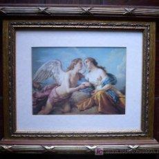 Arte: PRECIOSO TEMA ITALIANO ENMARCADO. Lote 26840080