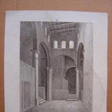 Arte: PRECIOSO GRABADO DE BAÑOS ARABES DE VALENCIA - AÑOS 1790-1800. Lote 25193770