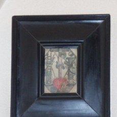 Arte: GRABADO DEL SIGLO XVII ESCUELA FLAMENCA . Lote 26289007