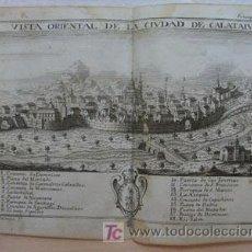 Arte: + CALATAYUD, ZARAGOZA, ANTIGUO GRABADO, AÑO 1772,GARANTIZO FECHA Y AUTENTICIDAD. 15 X 18 CM. Lote 27289557