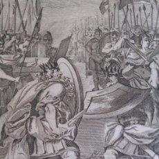 Arte: GRABADO A. TESTAMENTO PUEBLO JUDIO 1761 DIBUJO GERONIOMO ANTONIO GIL .GRABADOR HIPOLITO RICARTE.. Lote 25666805