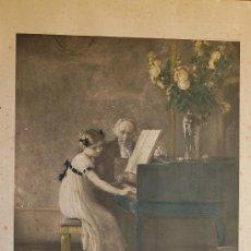 Arte: GRABADO DE SIEGMUND HILDESHEIMER & CO. LTD. LONDON AND MANCHESTER DE 1800 APROX. 48 X 73 CM.. Lote 14406709