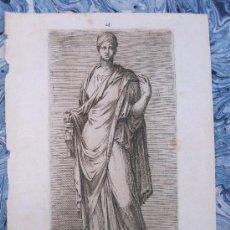 Arte: GRABADO DE TEMA MITOLÓGICO DEL SIGLO XVII. Lote 14785772