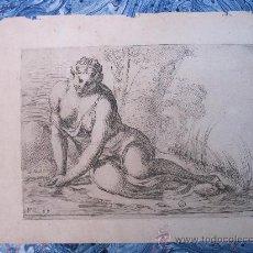Arte: GRABADO DE TEMA MITOLÓGICO DEL SIGLO XVII. Lote 14785789