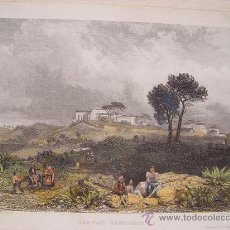Arte: ITALIA. 'CASTEL GONDOLPHO' DIBUJÓ JAMES DUFFIELD HARDINGS (1798-1863). GRABÓ JOHN SMITH.. Lote 27193587