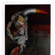 Arte: JOAN CRUSPINERA / COMPOSICIÓN SURREALISTA -1. AGUAFUERTE FIRMADO A MANO, NUMERADO E/A. Lote 17596824